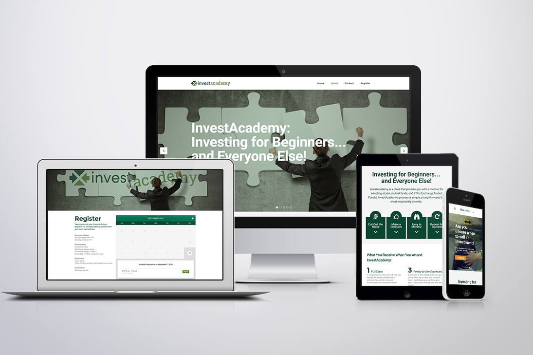 InvestAcademy Website Project