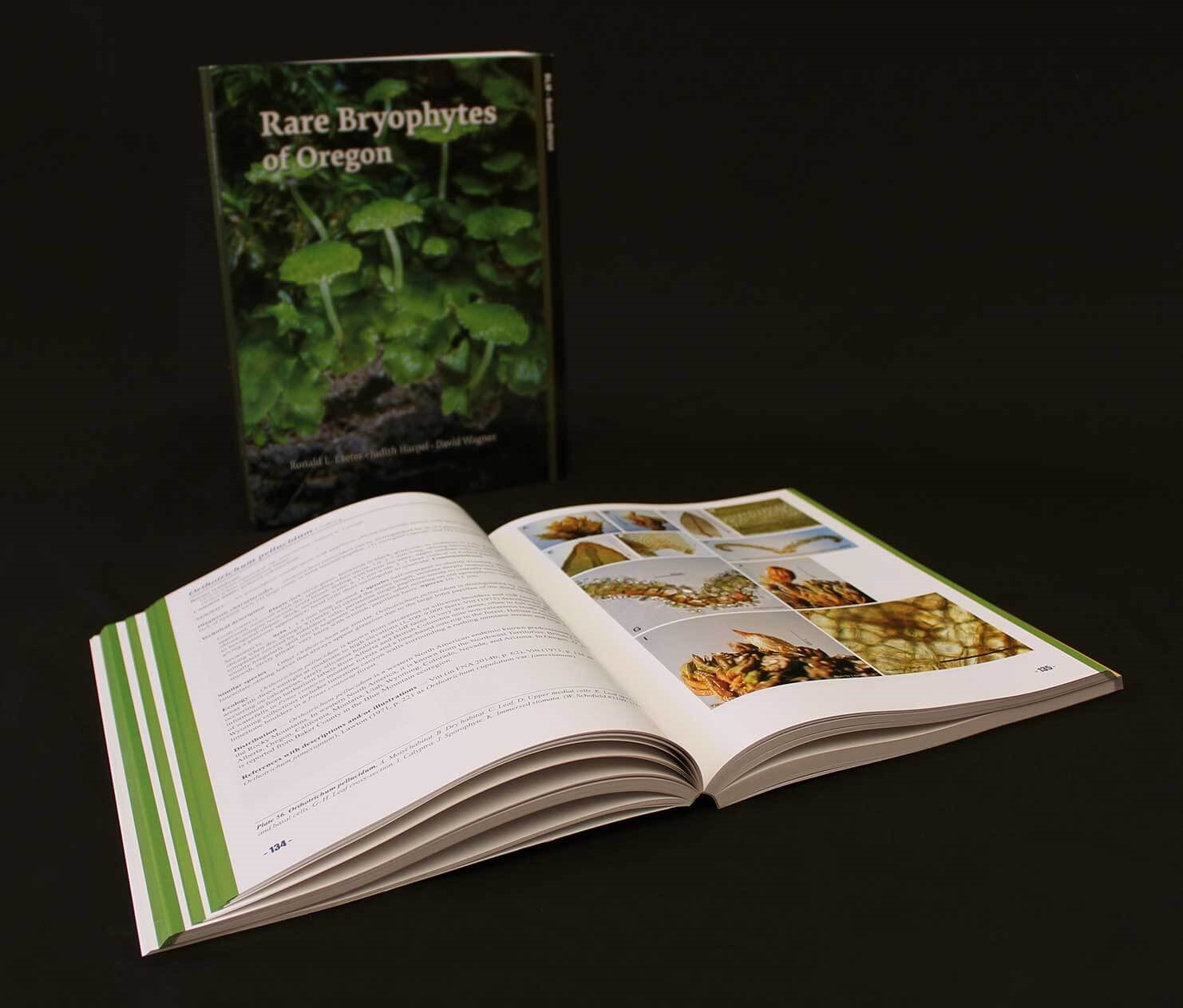Oregon BLM Book Design Project Green Opened Book